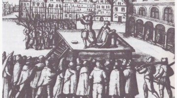 Execution of the Mayor of Lübeck Johann Wittenborg