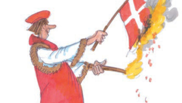 The Danes were defeated by North German princes
