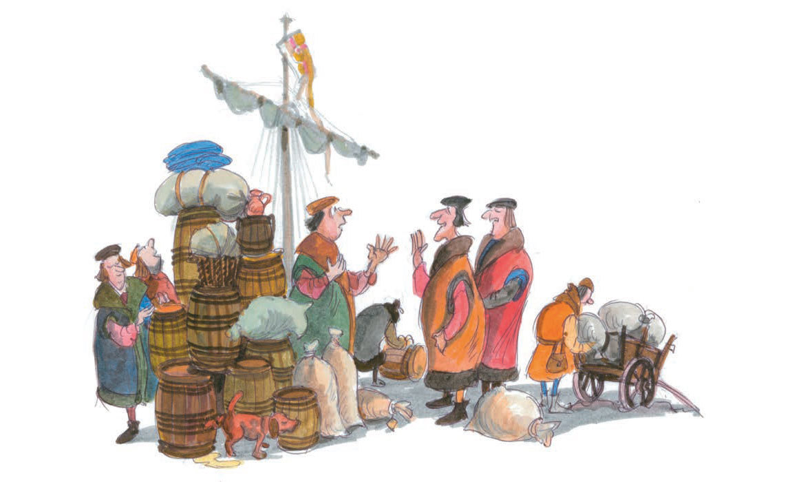 The Hanseatic story  400 years of exciting past