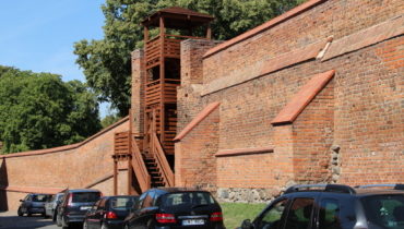 Chelmno city wall and observation bastion