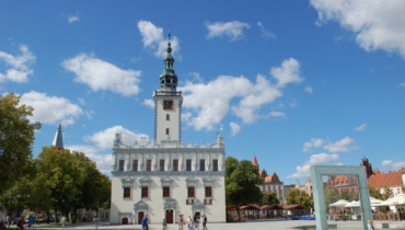 Chelmno gothic and renaissance city hall - museum of Chelmnoian country in the market place