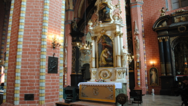 Chelmno altar of Saint Valentine in the Maria Assumption parish church