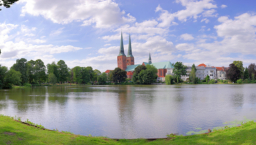 Panorama Lübeck with cathedral  © LTM_U. Freitag