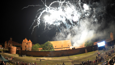 Malbork siege of the Marien castle