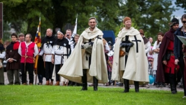Malbork medieval knight games