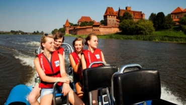 Malbork water sports at the Nogat