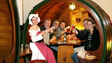 Bier diploma in the barrel of the Brodhouse