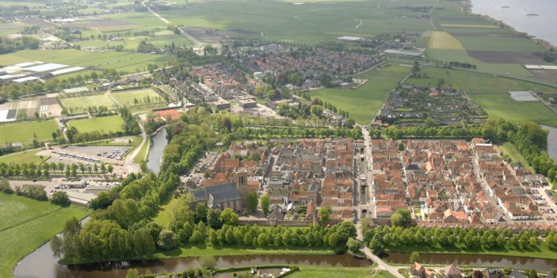 Elburg from above
