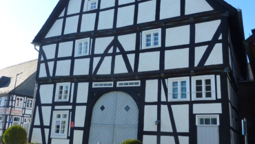 Haus Buuck, oldest house in Rüthen, from 1609