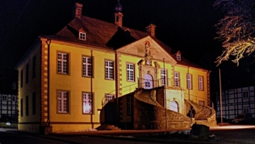 Old Town Hall at night