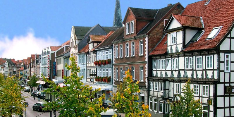 Hanseatic City of Uelzen timbered houses