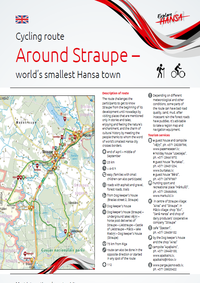Cycling route Around Straupe
