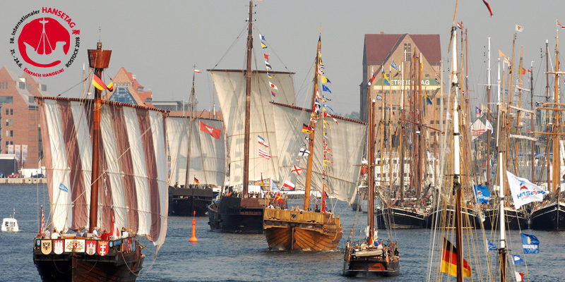 Hanseatic day 2018 in Rostock