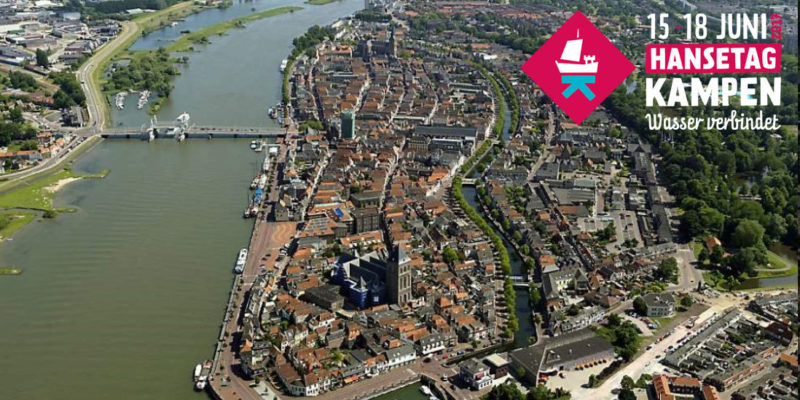 Hanseatic days 2017 in Kampen
